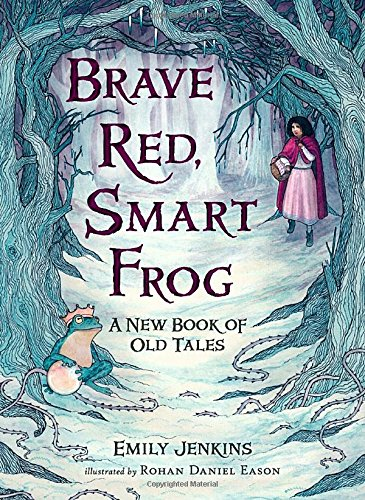 Brave Red Smart Frog